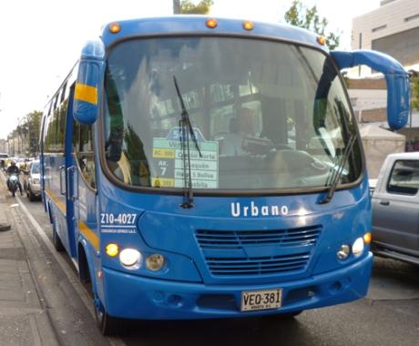 SITP Urbano Bus, Bogotá