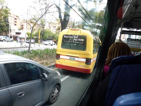 Bus, Bogotá